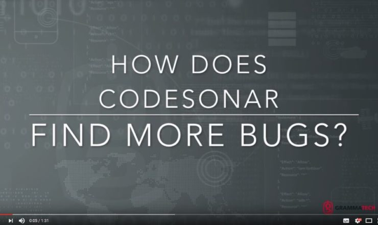 CodeSonar find bugs