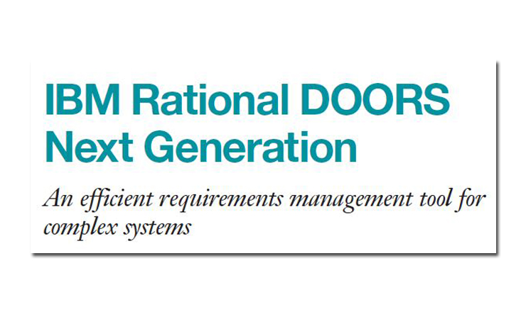 Rational DOORS Next Generation